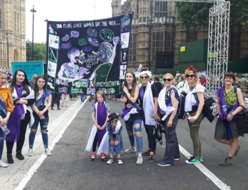 The Boulevard and Sullivan Centre Girls March on London